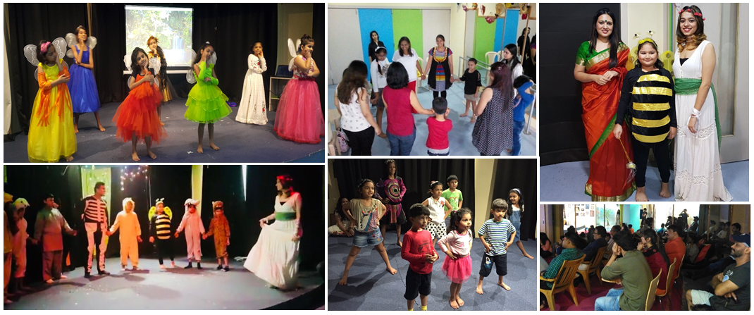 Mama Mia - theatre in education at CLAP